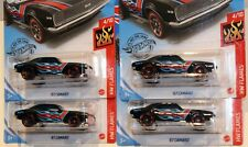 2020 HOT WHEELS KROGER EXCLUSIVES: BLACK '67 CAMARO. LOT OF 4.
