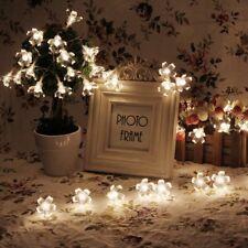 50 LED Solar String Garden Lights Flower Bulbs Solar Light Waterproof Decorative