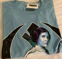 STAR WARS CELEBRATION 2019 CHICAGO LEIA BADGE ART T-SHIRT SZ S IN HAND AUTHENTIC
