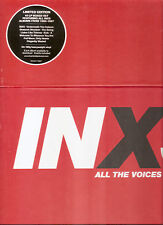 """INXS """"All The Voices"""" 10LP Vinyl Box sealed"""