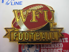 LOT of 10 PINS -Wake Forest University Pin - Football