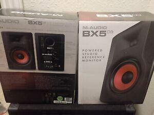 "M-Audio BX5 D3 5"" Powered Studio Monitor Pair"
