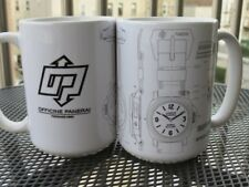 White Coffee Mug, Custom-Designed, Nice for Panerai (PAM) Watch Lovers, no box