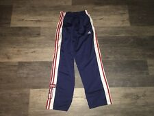 adidas button pants red | eBay