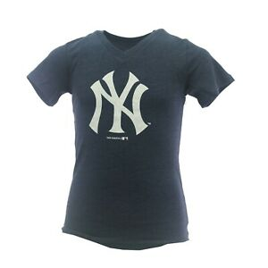 New York Yankees Official MLB Genuine Kids Youth Girls Size T-Shirt New Tags