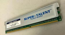 Super Talent D27PB1GJ PC2700 1GB 333Mhz DDR-333 2 Bank 64Mx8 CL2.5