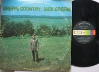 Country Lp Jack Greene Greene Country On Decca