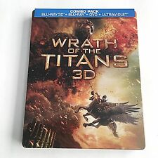 Wrath of the Titans Blu-ray (3D+2D) Steelbook [USA] Best Buy Exclusive! MINT!