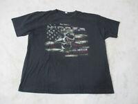 Hinder Rock Band Brown T-shirt Get Stoned Adult Medium