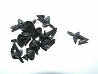 10 X OKUMA BLACK BREAKAWAY IMPACT SHIELDS HOOK BAIT CLIP COD BASS BEACH RIG