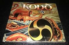 Kodo Mondo Head CD Rare OOP Mickey Hart 2002 Red Ink Digipak