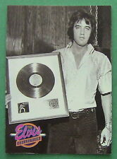 ELVIS PRESLEY, 1992 THE ELVIS COLLECTION #656 CARD, GOLD RECORD, MADISON GARDEN