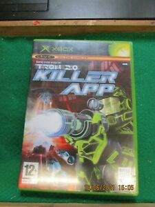 MICROSOFT XBOX ORIGINAL TRON 2.0 KILLER APP  UK PAL WITH MANUAL