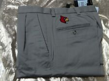 adidas Pleated Stretch Twill with Louisville Cardinals Logo