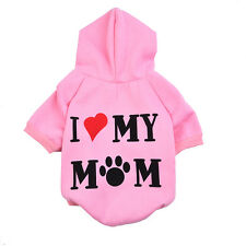 Small Pet Dog Cat Puppy Warm Sweater Jacket Hoodie Coat/clothes Costume Apparel