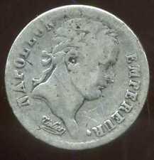 FRANCE  50 centimes  1/2 franc 1808 BB    NAPOLEON I  argent  silver