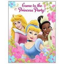 Disney Fanciful Princess 8 ct Birthday Invitations Come to the Princess Party!