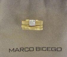 MARCO BICEGO Masai Ring 18kt Yellow Gold with Diamonds Size 7 ~ EUC!