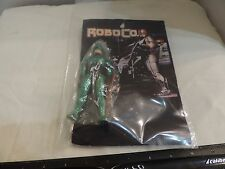 Bootleg Robo Cop Action Figure With Weapon Green Armor and Custom Carded