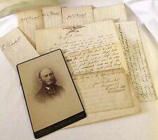 Manuscript Archive Jacob Randall Abolition Freedom Civil War Carversville 1800s
