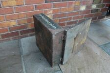 WW2  German equipment solid metal box, case, vgc for age, SALE SALE!!!!good