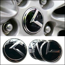 3D K Logo Wheel Center Caps Hub Emblem Badge 4pcs For KIA 2010-2013 Forte Koup