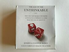 The Age Of The Unthinkable - Joshua Cooper Ramo Audiobook 8 CD Set Free Shipping
