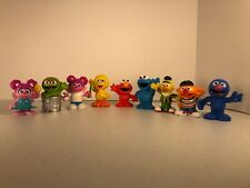 "2010/2013 Hasbro Sesame Street 3"" Figures Big Bird Elmo Cookie Monster Grover 9"