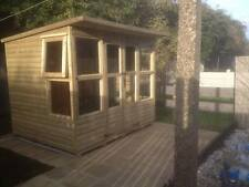 8x6 PENT SUMMER HOUSE (CABIN) (WENDY HOUSE )(PLAY HOUSE)(WOODEN GARDEN SHED)