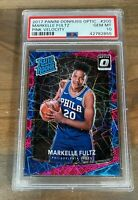 2017 OPTIC PINK VELOCITY MARKELLE FULTZ SP /79 RATED ROOKIE #200 PSA 10 GEM MINT