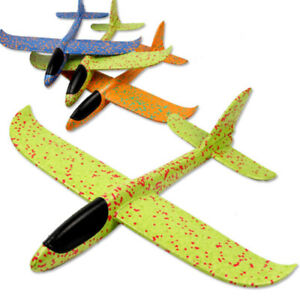 Hand Throw Airplane EPP Foam Glider Inertia  Planes Model Outdoor Toy for Kids