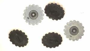 5 x Piher 5034 5034CR Thumbwheel For PT10 Potentiometer Range