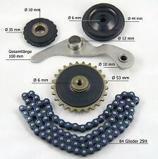 Steuerkette Set Rollen Kettenspanner Japan Quad ATV 110/125 ccm  neu (Lo.:m43)
