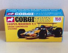 Corgi 159 Cooper-Maserati F1 Empty Repro Box