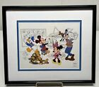 """Disney Limited Edition Sericel """"At The Studio With The Fabulous Five"""""""