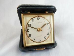 "Small Vintage ""Europa"" Travel Alarm Clock"