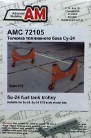 ADVANCED MODELING 1/72 SU24 FUEL TANK TROLLEY FOR TSM (D) | 72105