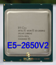 Intel Xeon E5-2650V2 2.6GHz Eight Core (SL1A8)  2011 Server Processor