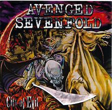 Avenged Sevenfold City Of Evil RARE promo sticker '05