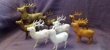 Antique Vintage Plastic Christmas Deer
