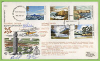 G.B. 1981 National Trusts RAFDC flown & signed First Day Cover, RAF Fylingdale