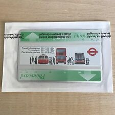 Mint Sealed BT Phonecard London Regional Transport 200units Cat. no. BTA037