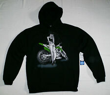 UNIT Riders Cheeky Sweatshirt Hoodie L Cross FMX Enduro Kawasaki KX-F Motiv NEU