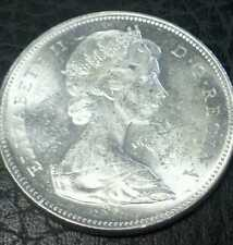 1966 Canada Silver Dollar BU Cameo Proof-like from an original roll
