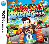 Diddy Kong Racing DS (Nintendo DS, 2007) GAME ONLY, TESTED AND WORKING A++