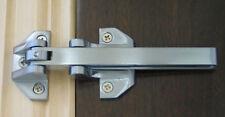 Security Door Guard Heavy Duty Satin Chrome Finish