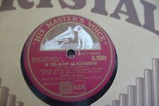 IN THE HEART OF MONTMARTRE/MAM'SELLE.78RPM JEAN CAVALL ORCHESTRE PHILIP GREEN