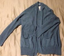 NWT American Eagle Women's Open Front Knit Cardigan Gray Size X-Small