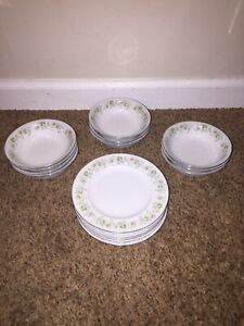 Lot Johann Haviland Bavaria Germany Berry Bowls & Bread Plates Forever Spring