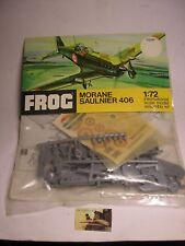 Kit Montaggio Frog Rovex Aereo Morane Saulnier 406 plastica scala 1:72 ref.F224F